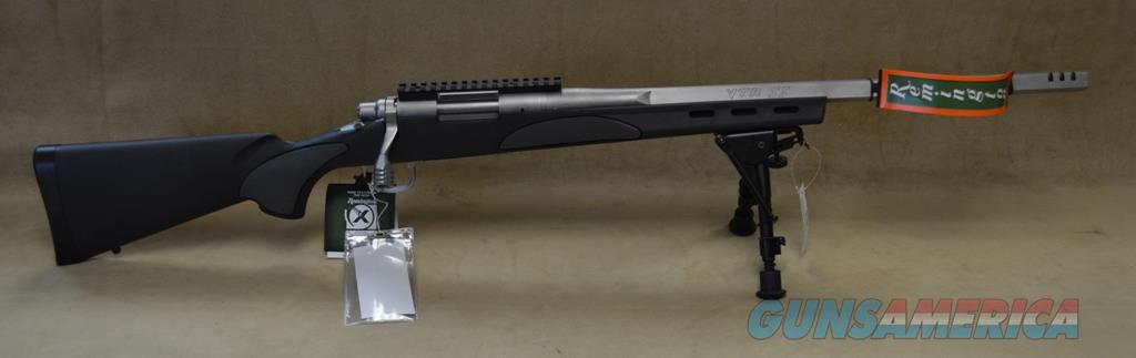 84356 Remington 700 VTR Package Stainless/Black - 223 Rem  Guns > Rifles > Remington Rifles - Modern > Model 700 > Sporting