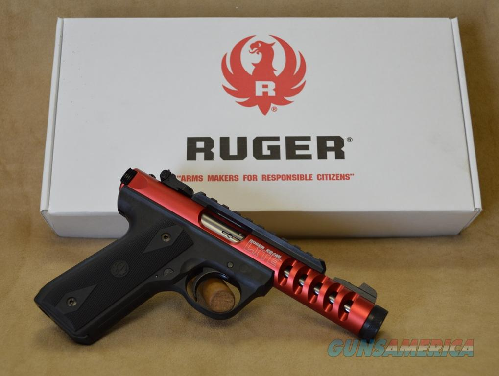 3910 Ruger 22/45 Lite Red - 22 LR - Exclusive  Guns > Pistols > Ruger Semi-Auto Pistols > Charger Series