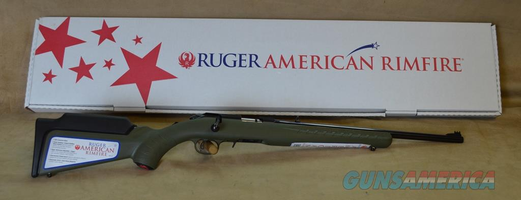 8313 Ruger American Compact OD GREEN stock - 17 HMR  Guns > Rifles > Ruger Rifles > American Rifle