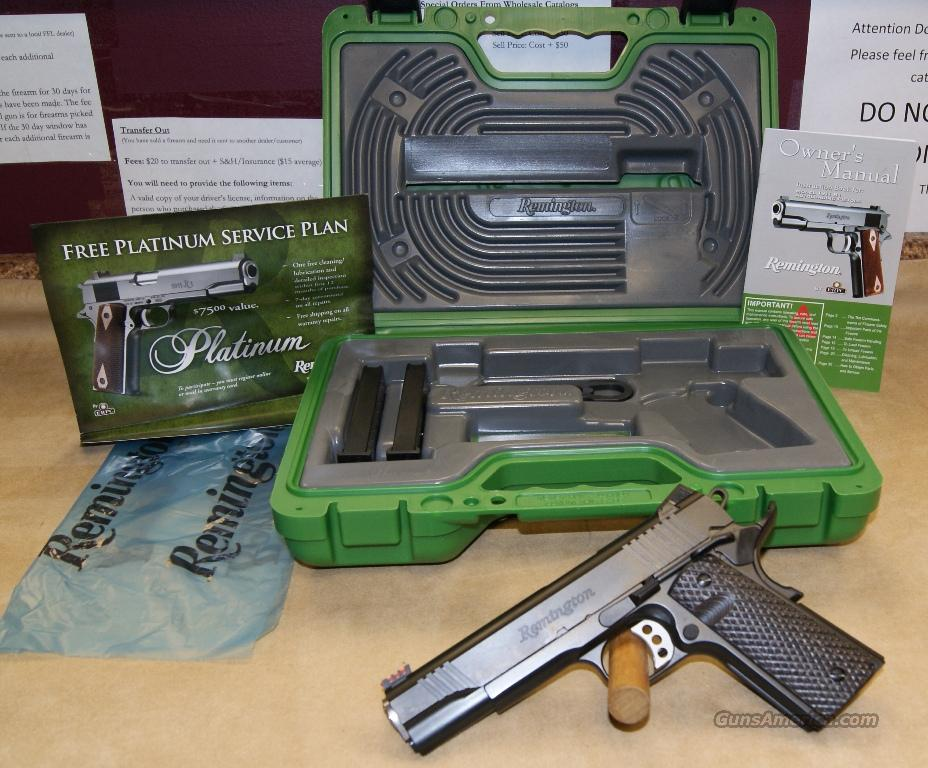 REBATE 96328 Remington Model 1911 R1 Enhanced - 45 ACP  Guns > Pistols > Remington Pistols - Modern