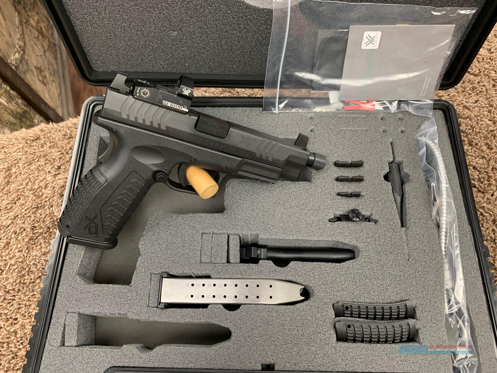 XDMT9459BHCOSPV Springfield XDM 2 barrel + Vortex optic combo 9mm  Guns > Pistols > Springfield Armory Pistols > XD-M