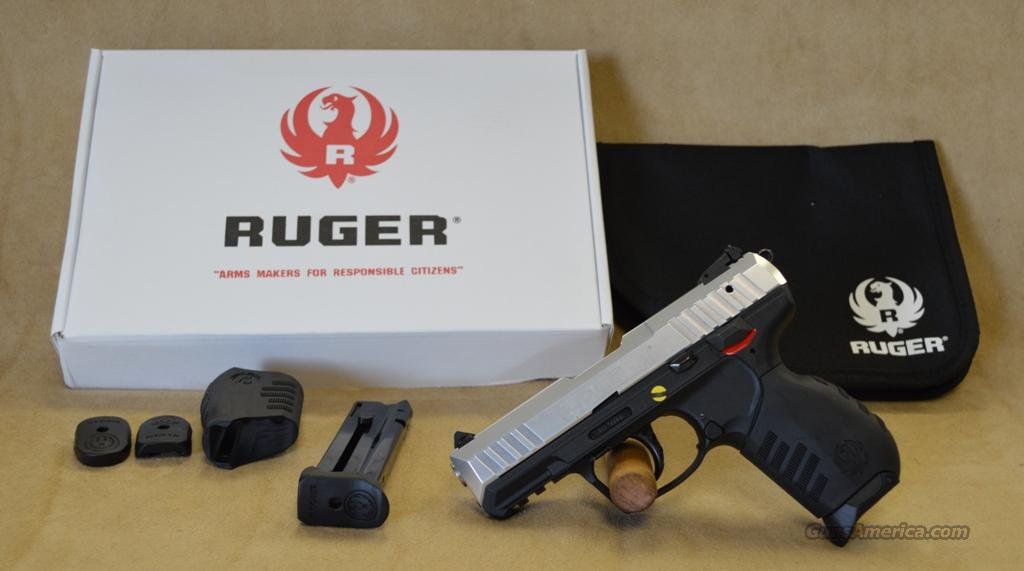 3607 Ruger SR22 Stainless - 22 LR  Guns > Pistols > Ruger Semi-Auto Pistols > P-Series