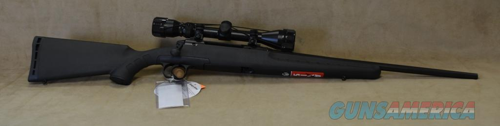 19235 Savage Axis XP Youth Black Package - 243 Win  Guns > Rifles > Savage Rifles > Accutrigger Models > Sporting