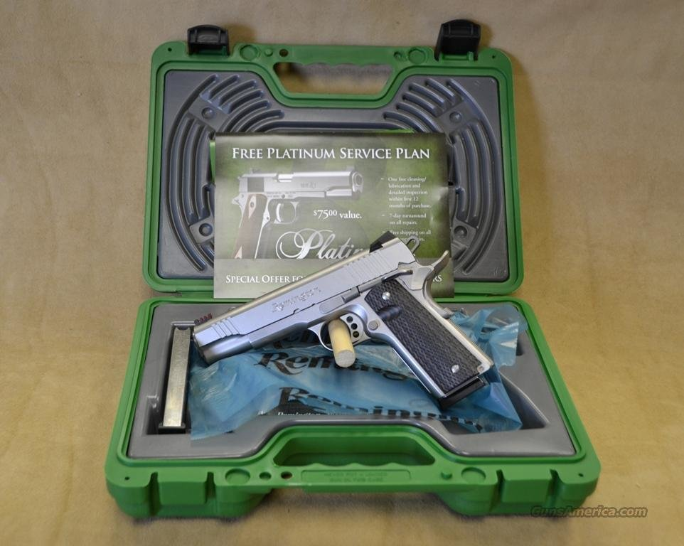 96329 Remington 1911 R1 Enhanced Stainless - 45 ACP  Guns > Pistols > Remington Pistols - Modern