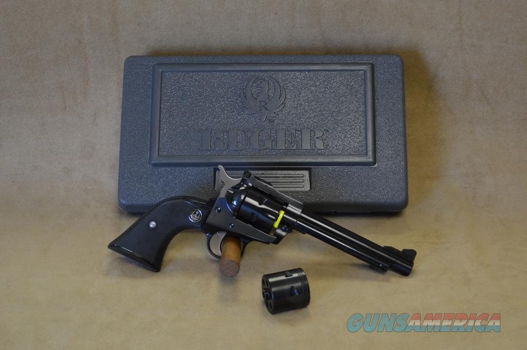 "0621 Ruger Single Six Blued 5.5"" - 22 LR / 22 Mag  Guns > Pistols > Ruger Single Action Revolvers > Single Six Type"