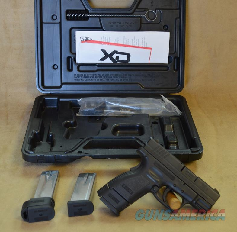 Springfield XD Subcompact Black - 9mm - Used w/box + papers  Guns > Pistols > Springfield Armory Pistols > XD (eXtreme Duty)