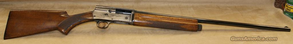 Browning A5 Belgium - 16 gauge  Guns > Shotguns > Browning Shotguns > Autoloaders > Hunting