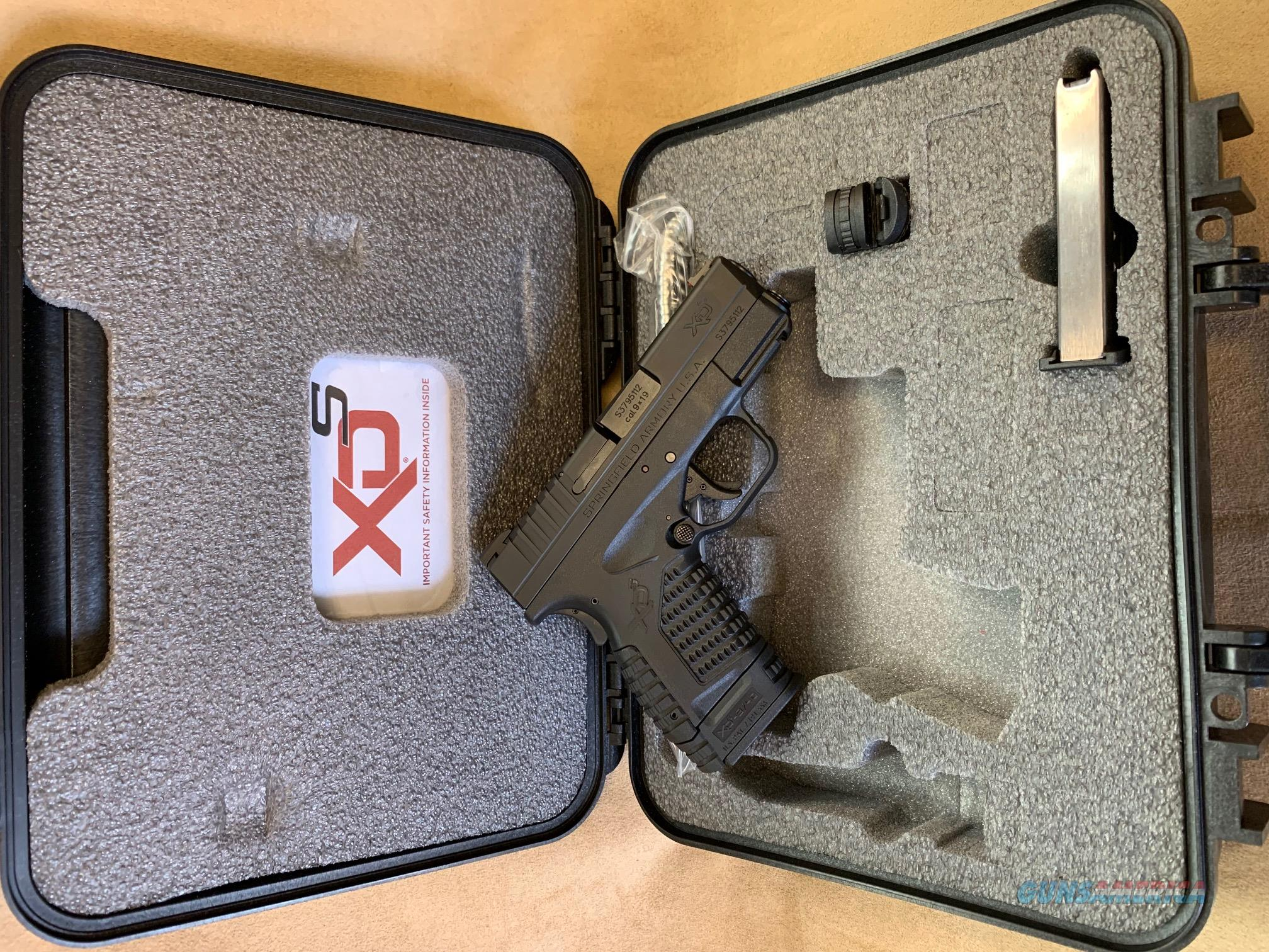 "Springfield XDS 3.3"" 9mm  Guns > Pistols > Springfield Armory Pistols > XD-S"
