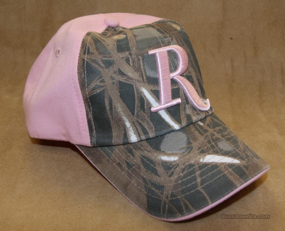 Remington Pink & Camo Ladies Hat  Non-Guns > Logo & Clothing Merchandise