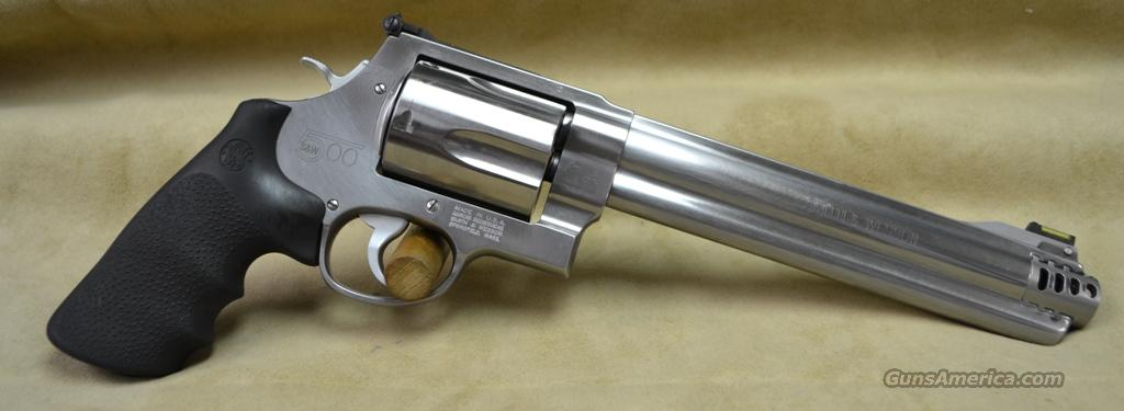 "Smith & Wesson 500 8 3/8"" Stainless - 500 S&W  Guns > Pistols > Smith & Wesson Revolvers > Performance Center"