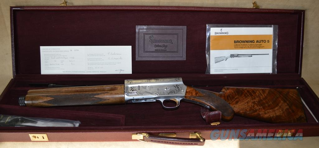 Browning Auto 5 Custom Shop - 20 gauge - Consignment  Guns > Shotguns > Browning Shotguns > Autoloaders > Hunting
