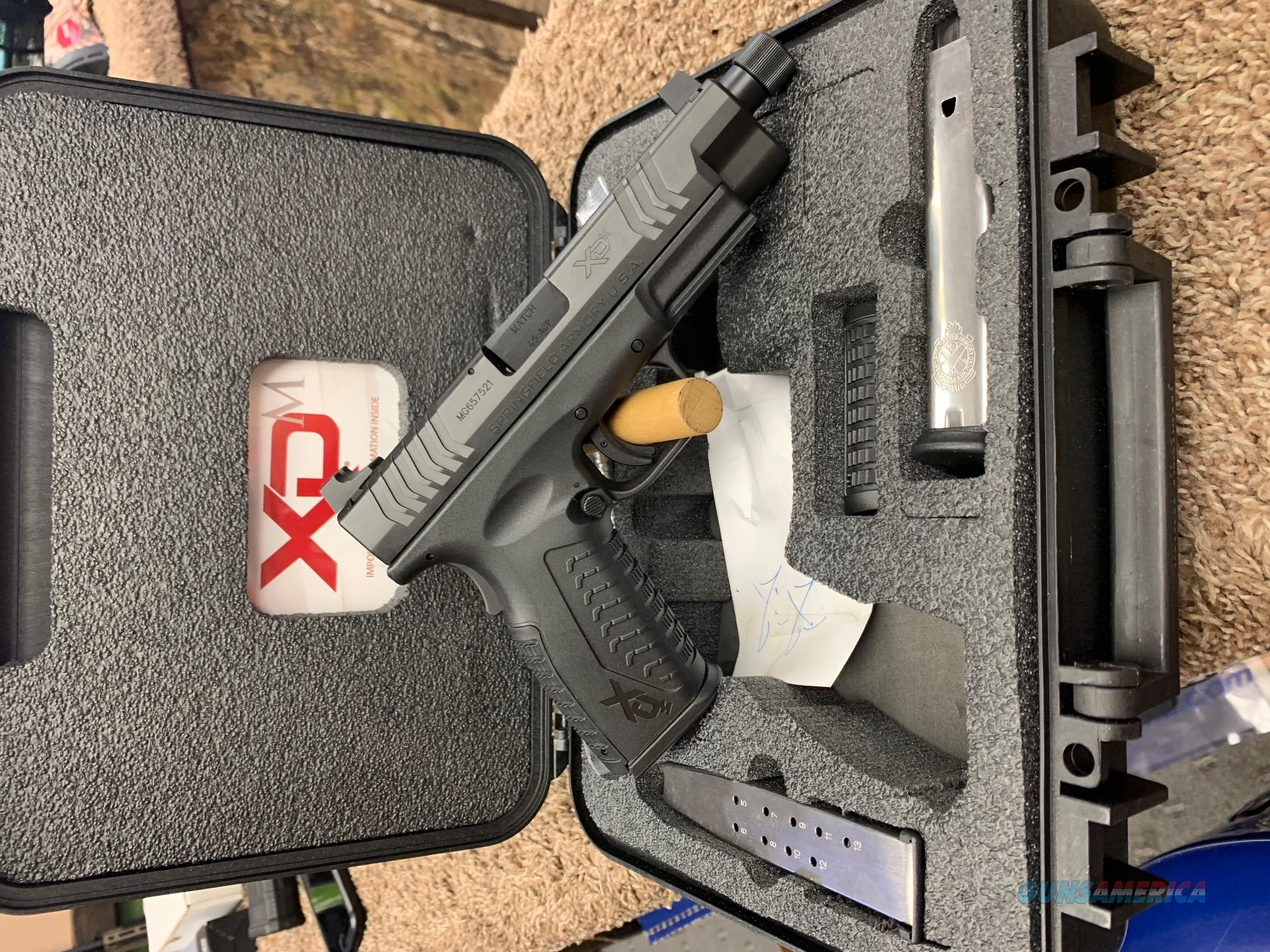 XDMT94545BHCE Springfield XDM Threaded Exclusive 45 ACP  Guns > Pistols > Springfield Armory Pistols > XD-M