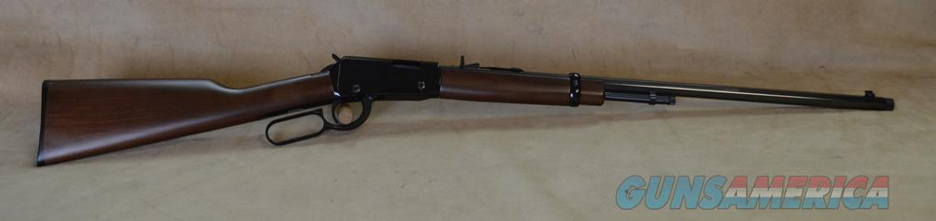 H001TMSPR Henry Frontier Lever Threaded - 22 Mag  Guns > Rifles > Henry Rifle Company
