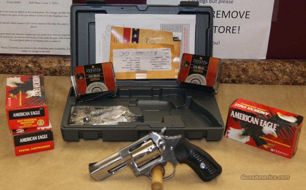 Ruger SP101 w/ammo - 327 Federal Mag  Guns > Pistols > Ruger Double Action Revolver > SP101 Type