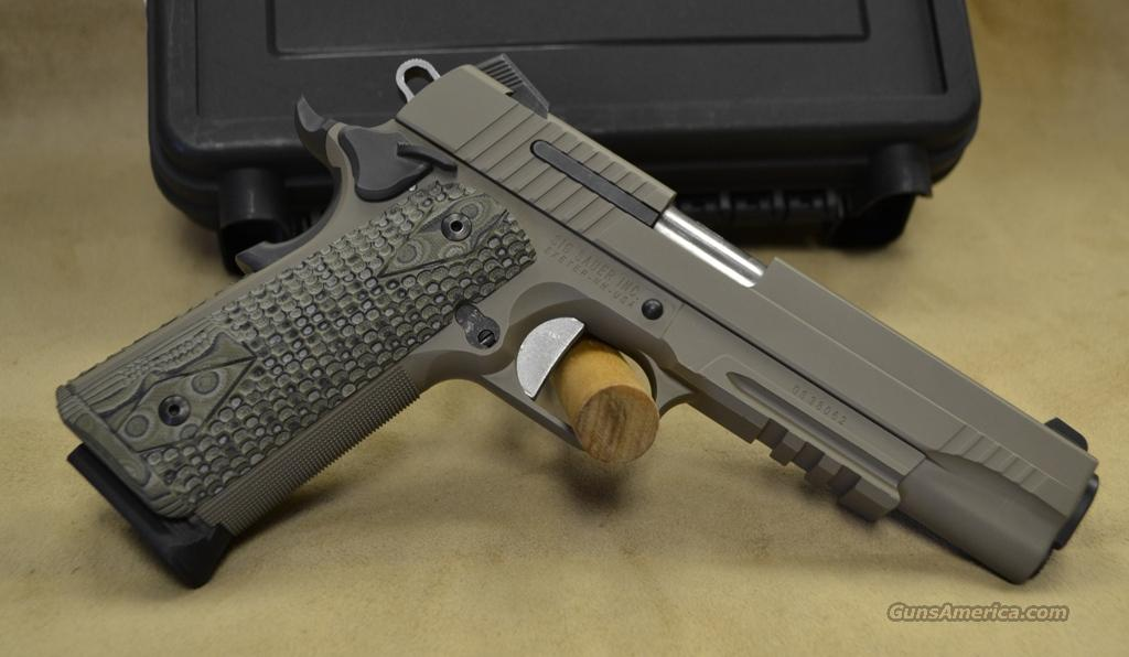 1911R45SCPN Sig Sauer 1911 Scorpion - 45 ACP - As New in box  Guns > Pistols > Sig - Sauer/Sigarms Pistols > 1911