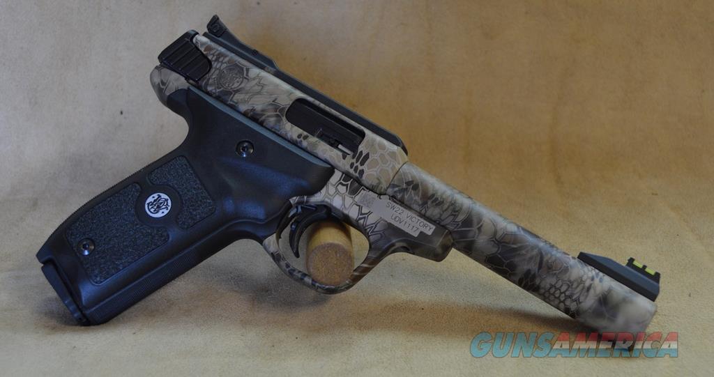 10297 Smith & Wesson 22 Victory Kryptek - 22 LR  Guns > Pistols > Smith & Wesson Pistols - Replica