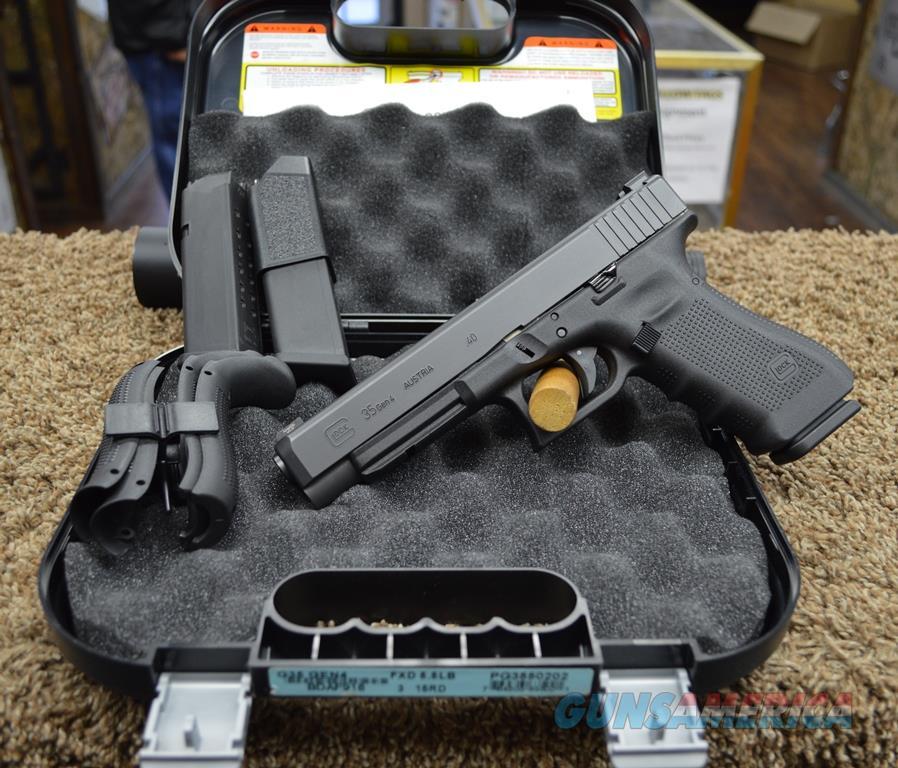 Glock 35 Gen 4 - 40 S&W Used, As New in box  Guns > Pistols > Glock Pistols > 35