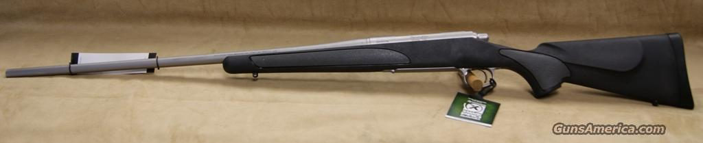 7255 Remington 700 SPS Stainless - 300 WSM  Guns > Rifles > Remington Rifles - Modern > Model 700 > Sporting
