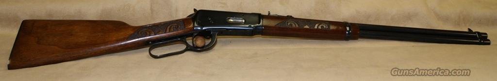 Winchester Model 1894 Saddle Ring Carved Stock - 30 WCF  Guns > Rifles > Winchester Rifles - Modern Lever > Model 94 > Pre-64
