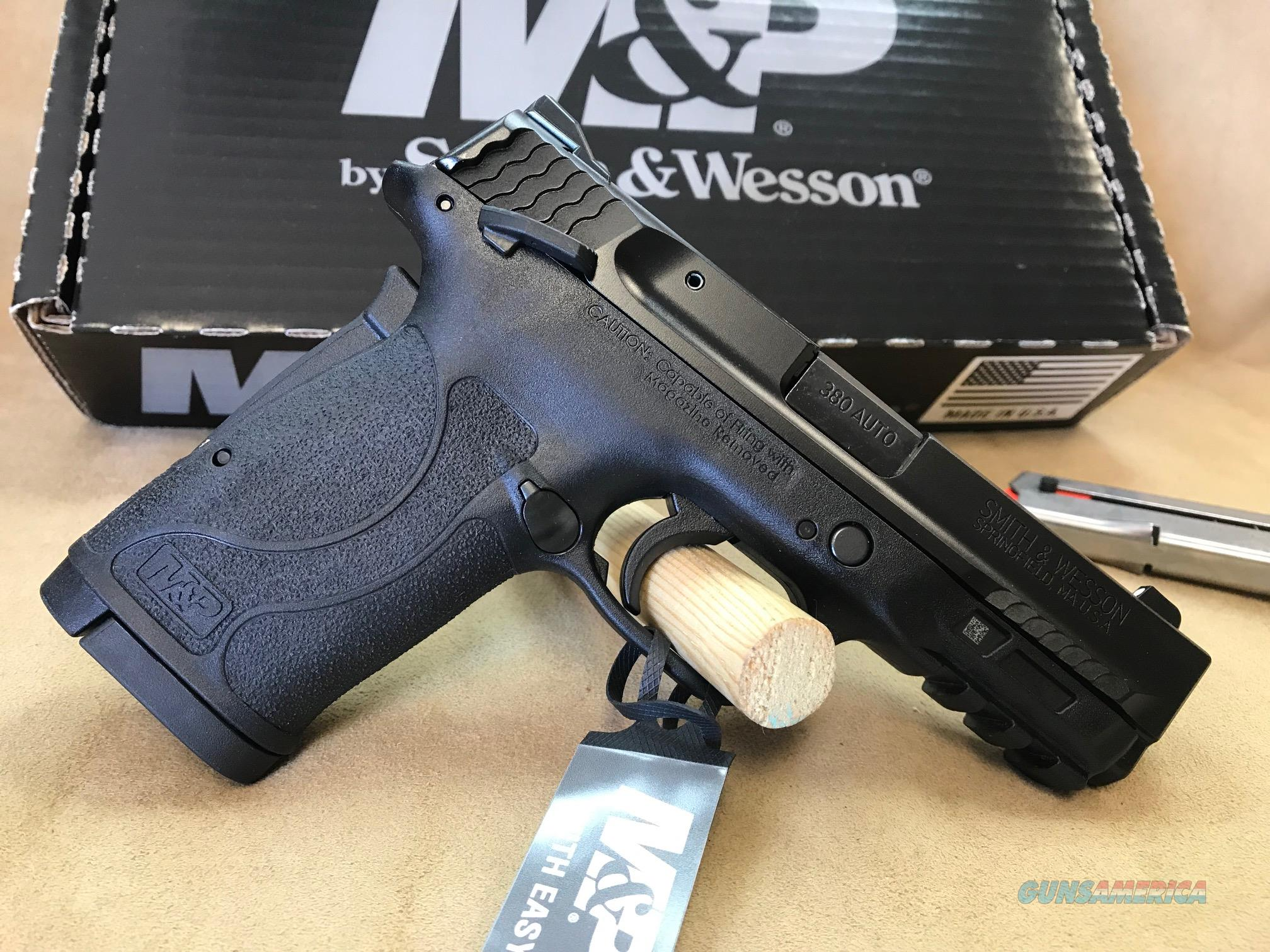 11663 Smith & Wesson M&P380 Shield EZ - 380 ACP  Guns > Pistols > Smith & Wesson Pistols - Autos > Shield