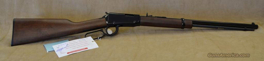 H001T Henry Lever Action Octagon - 22 LR  Guns > Rifles > Henry Rifle Company