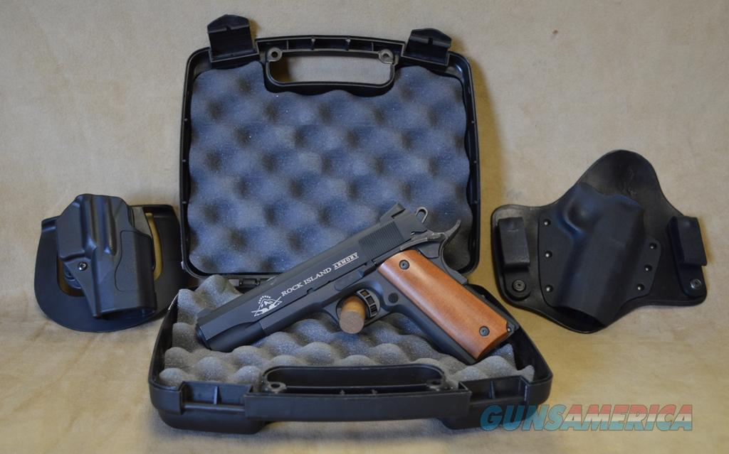 Armscor Rock Island Armory 1911 A1 FS - 9mm - Used with box and papers + 2 holsters  Guns > Pistols > Armscor Pistols > Rock Island