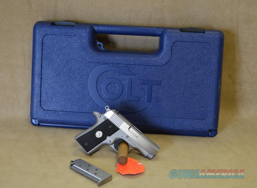 O6891 Colt Mustang Pocketlite Stainless - 380 ACP   Guns > Pistols > Colt Automatic Pistols (.25, .32, & .380 cal)
