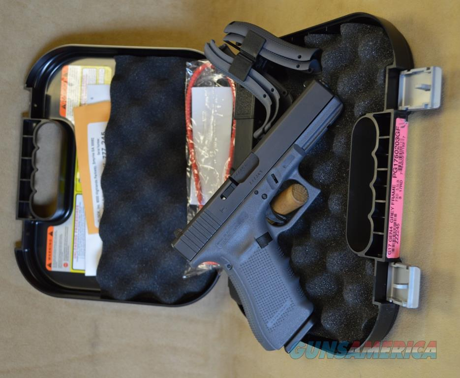 PG1750203GF Glock 17 Gen 4 Gray - 9mm - Exclusive  Guns > Pistols > Glock Pistols > 17