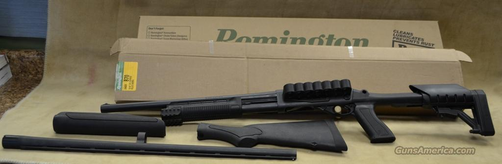 Remington 870 Express - 12 gauge with tactical accessories and extra barrel - Consignment - As new in box  Guns > Shotguns > Remington Shotguns  > Pump > Tactical