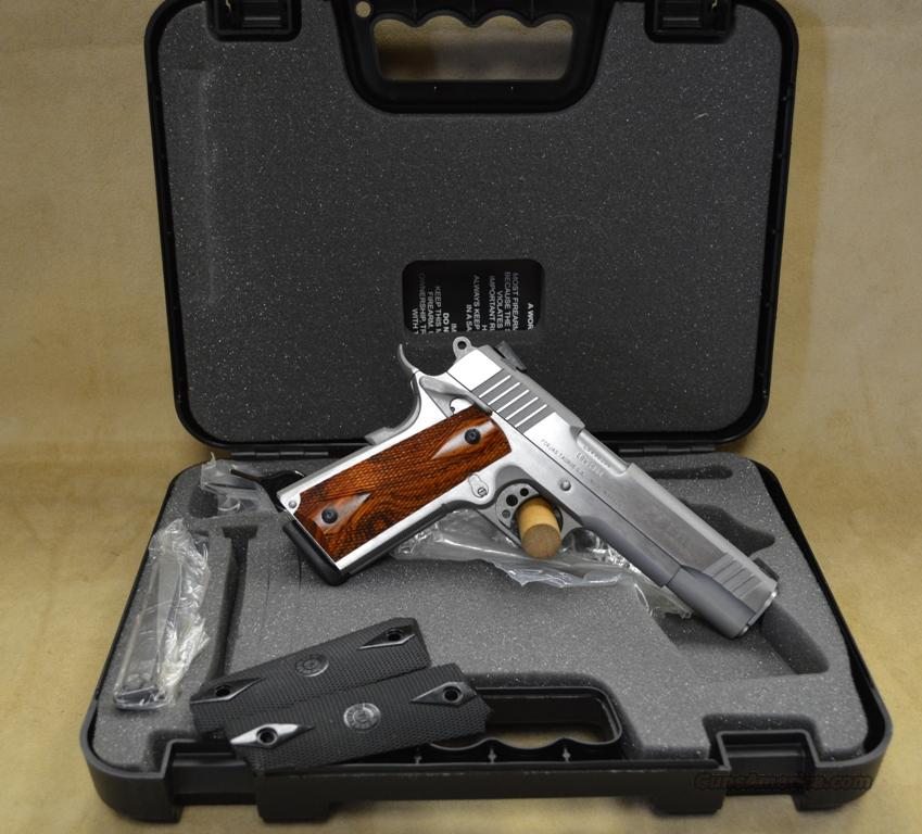 Taurus 1911 Stainless w/2 sets of grips - 38 Super - NIB - Consignment  Guns > Pistols > Taurus Pistols/Revolvers > Pistols > Steel Frame