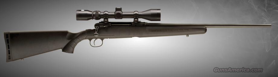 REBATE: 19231 Savage Axis XP Black Package - 308 Win  Guns > Rifles > Savage Rifles > Standard Bolt Action > Sporting