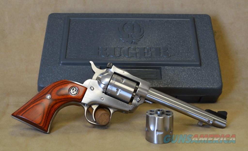 "0625 Ruger Single Six Convertible SS 5.5"" - 22 LR/22 Mag  Guns > Pistols > Ruger Single Action Revolvers > Single Six Type"