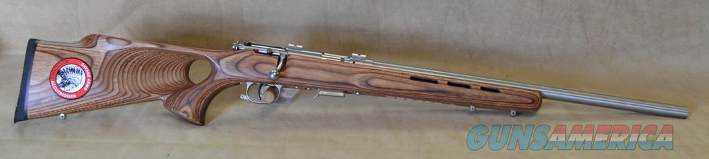 94725 Savage 93 BTVS Brown Laminate TH/ Stainless - 22 Mag  Guns > Rifles > Savage Rifles > Accutrigger Models > Sporting
