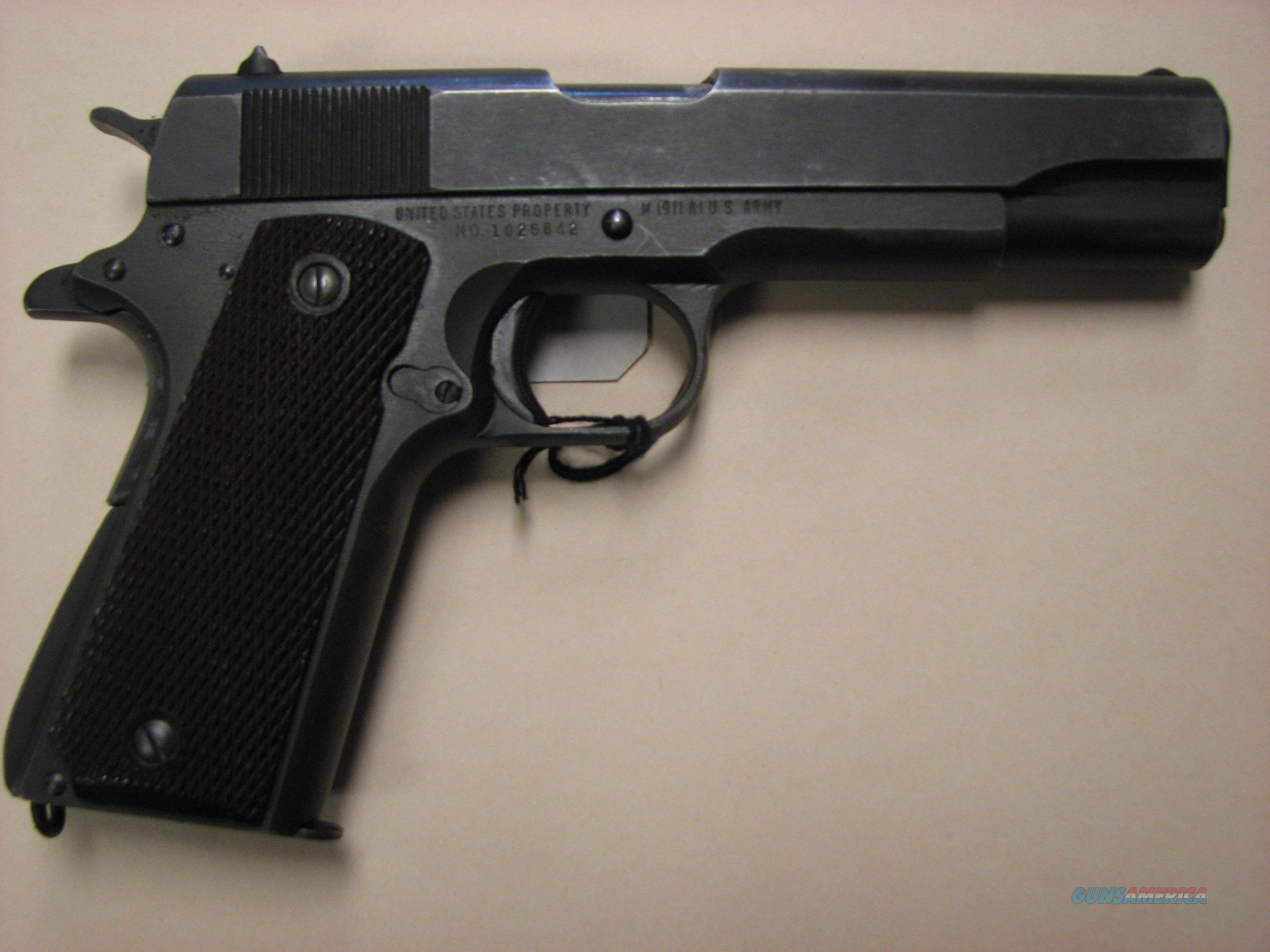 REMINGTON 1911-A1  45ACP  LATE 1943  Guns > Pistols > Remington Pistols - Modern > 1911