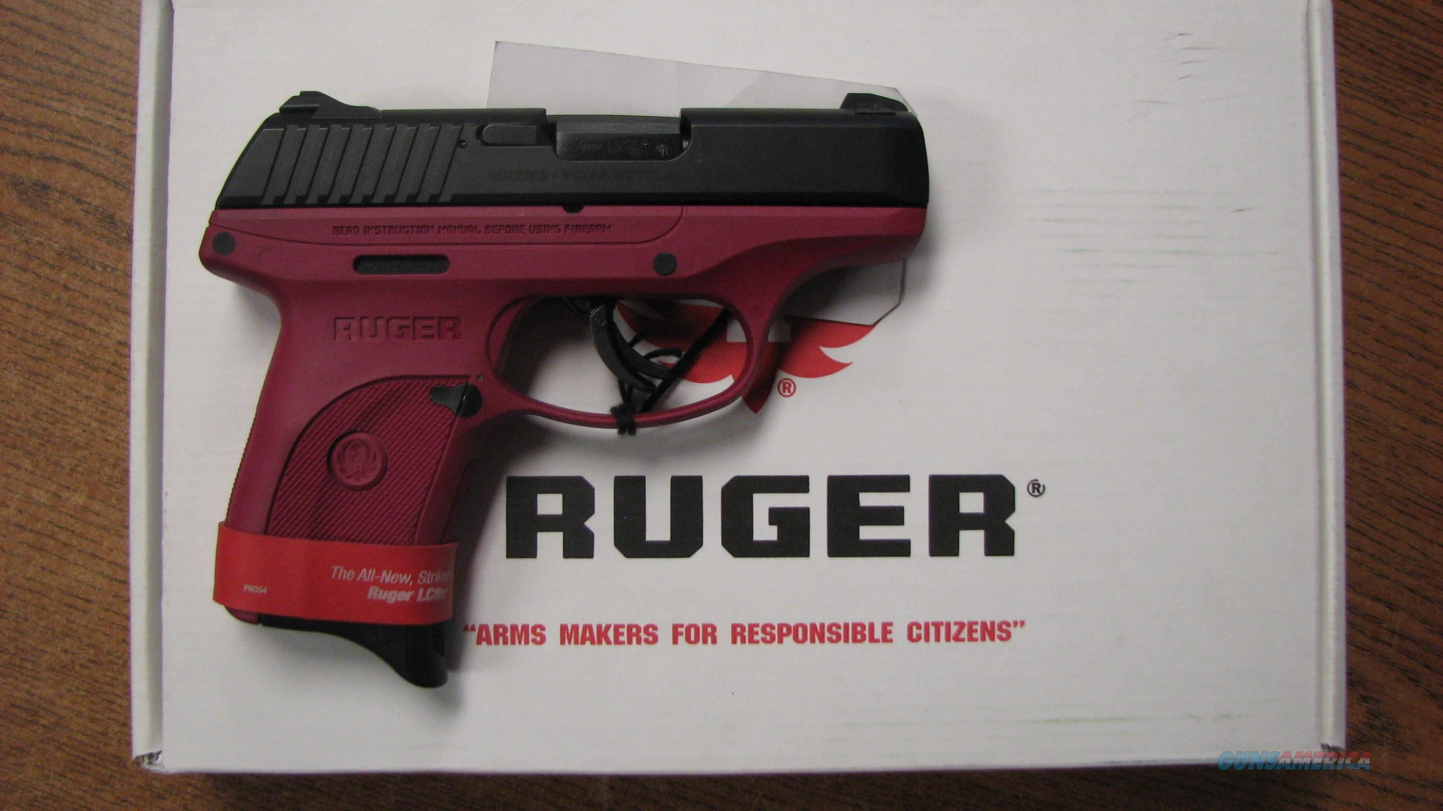 RUGER LC9S-R  9MM RUGER PLUM LOWER  Guns > Pistols > Ruger Semi-Auto Pistols > LC9