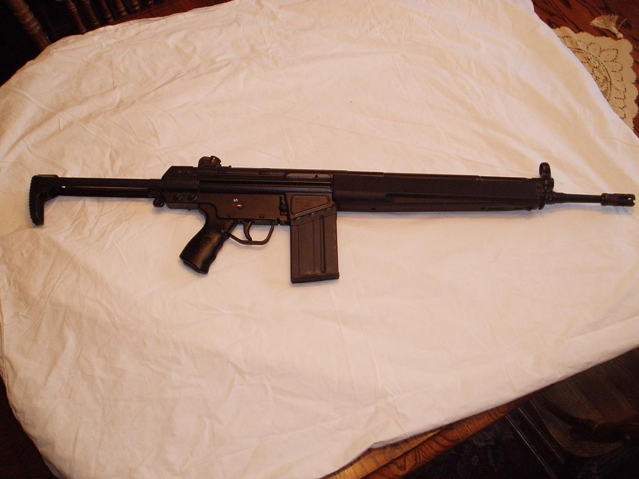 Heckler&Koch true HK-91-A3  Guns > Rifles > Heckler & Koch Rifles > Tactical