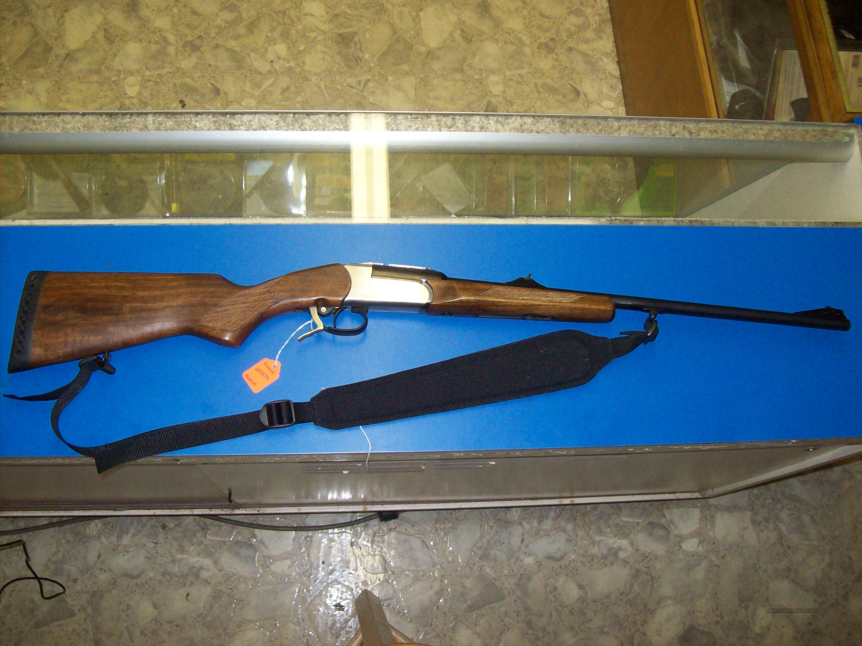 Remington 243 Baikal single shot from Russia  Guns > Rifles > Remington Rifles - Modern > Double Rifles