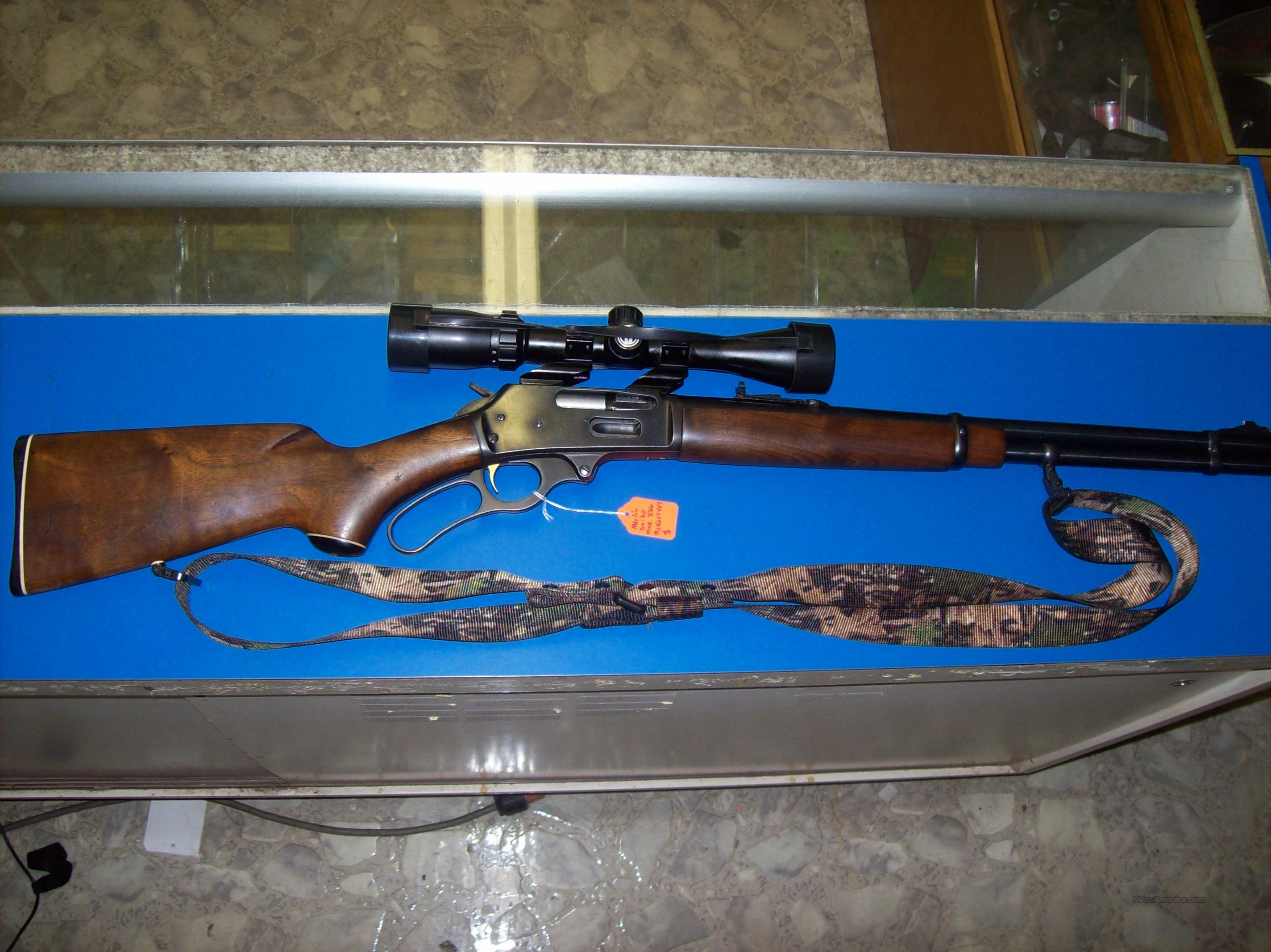 Marlin model 336 30-30 with scope/sling  Guns > Rifles > Marlin Rifles > Modern > Lever Action