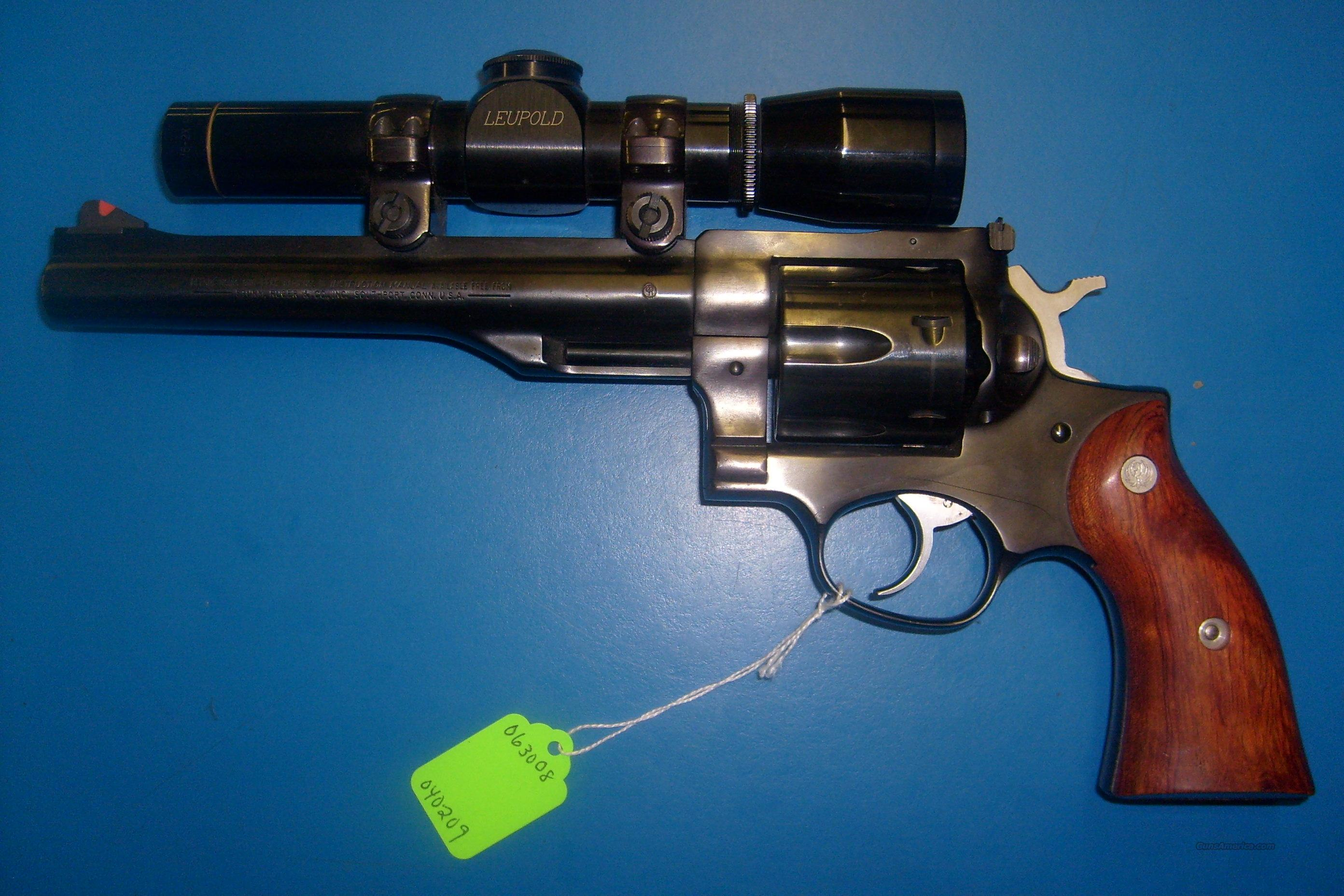 Ruger Redhawk Double Action 44 Mag.  Guns > Pistols > Ruger Double Action Revolver > Redhawk Type