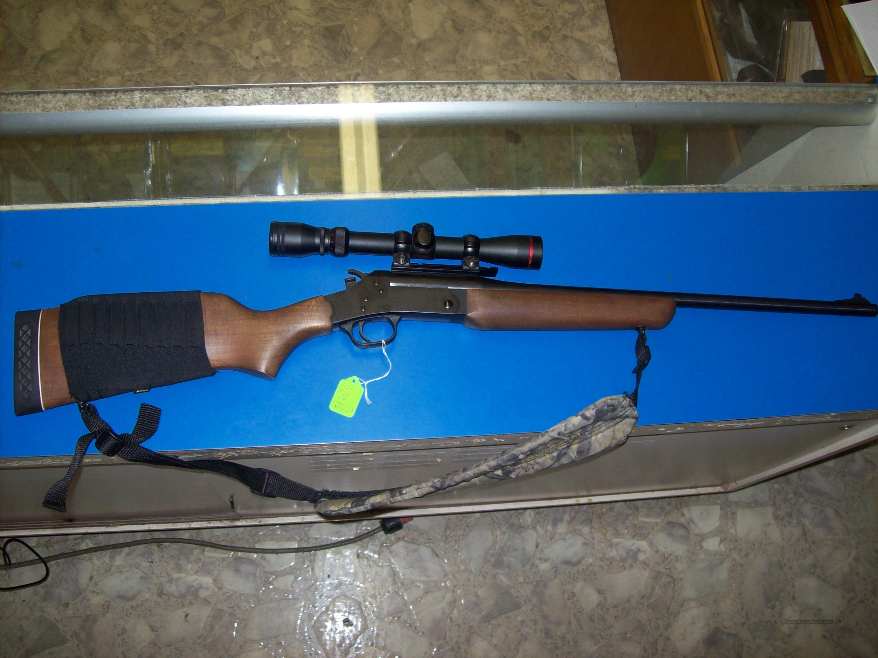 Rossi single shot 270 with scope, sling and ammo holder  Guns > Rifles > Rossi Rifles > Other