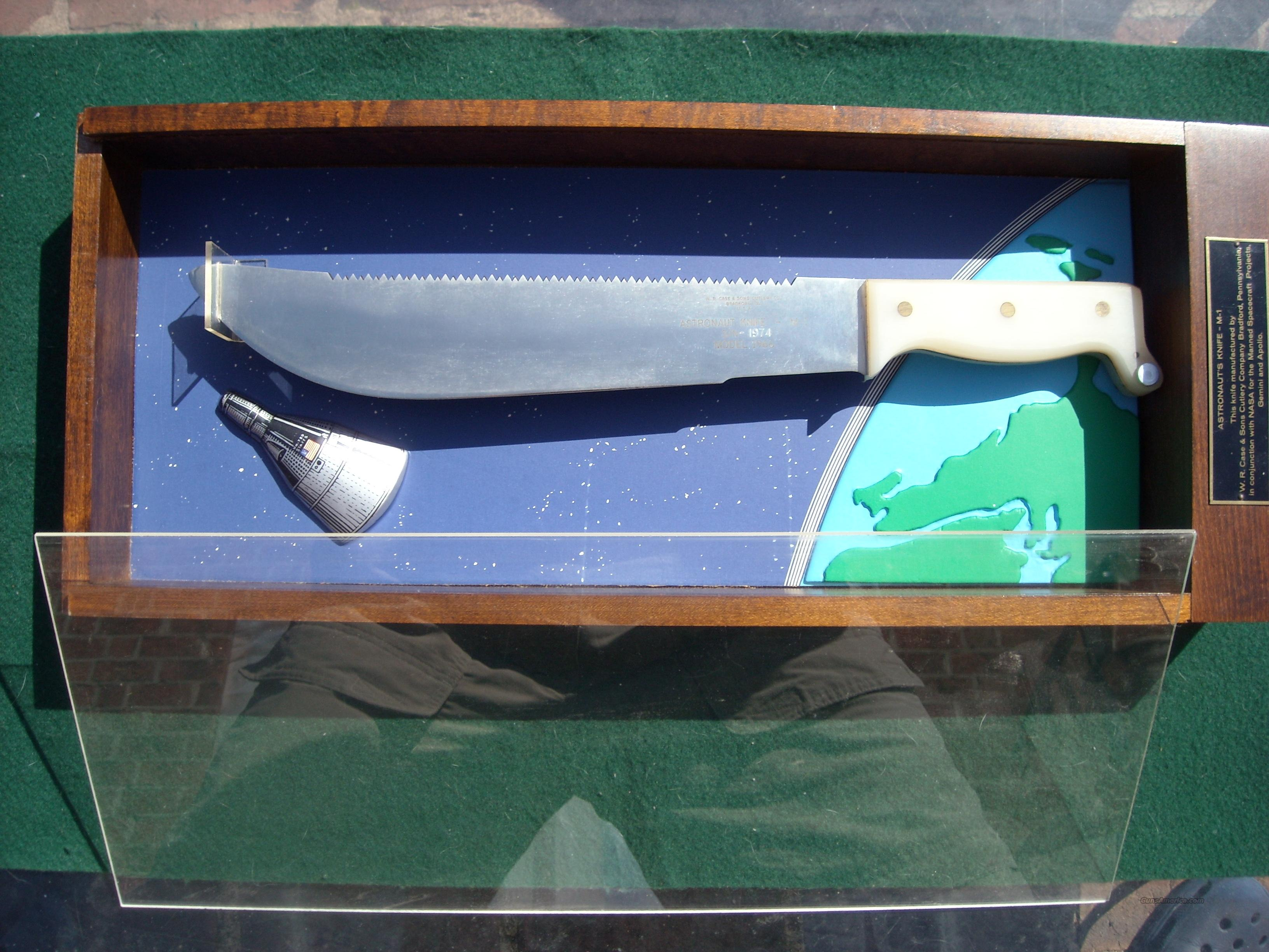 Case Model 1966 M-1 Astronaut knife  Non-Guns > Knives/Swords > Knives > Fixed Blade > Hand Made