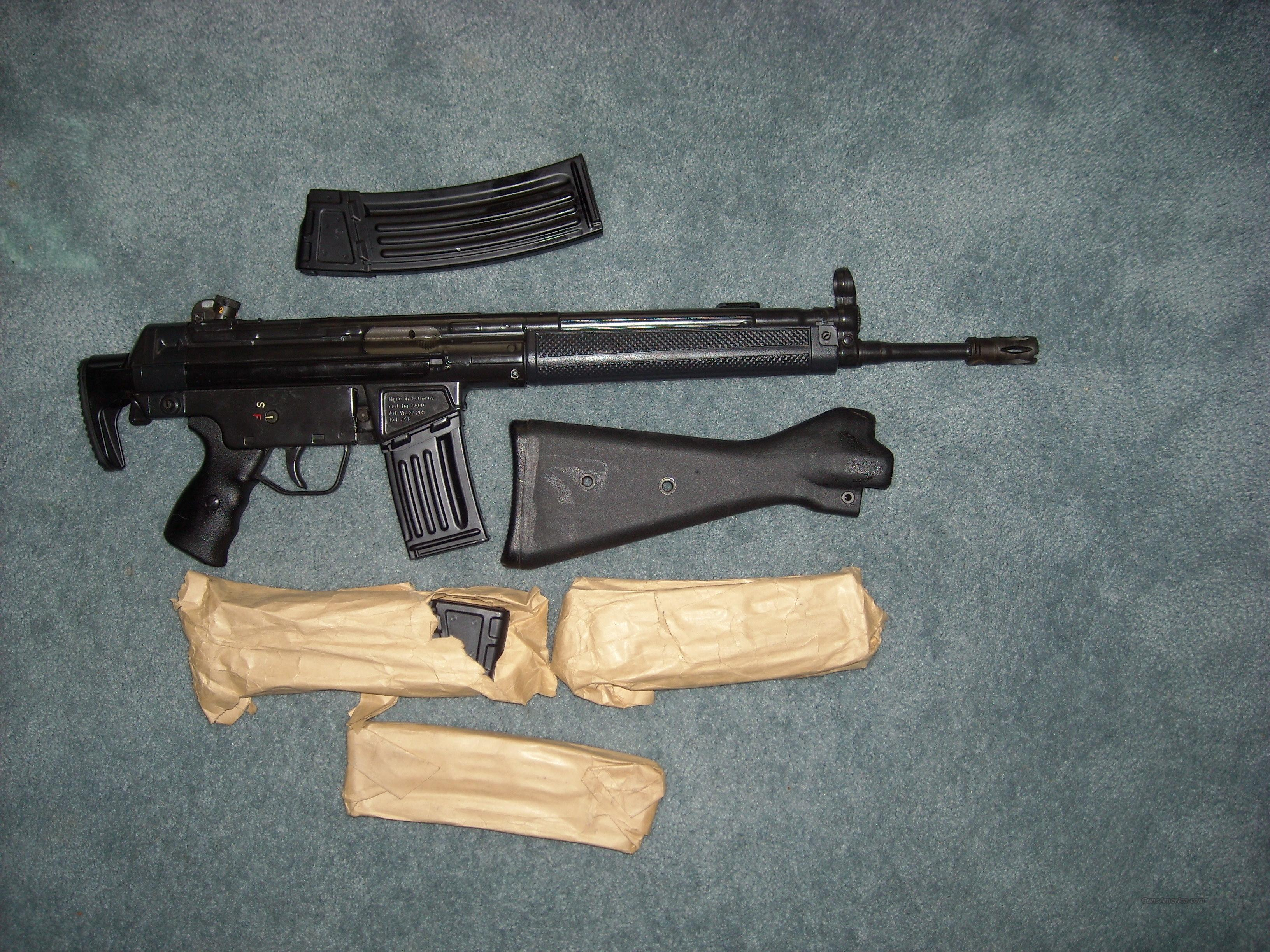 HK 43   Guns > Rifles > Heckler & Koch Rifles > Tactical