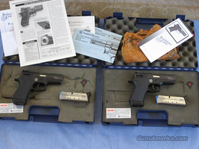 S&W PC Shorty 40 MK 3 consecutive serial numbered pair  Guns > Pistols > Smith & Wesson Pistols - Autos > Alloy Frame
