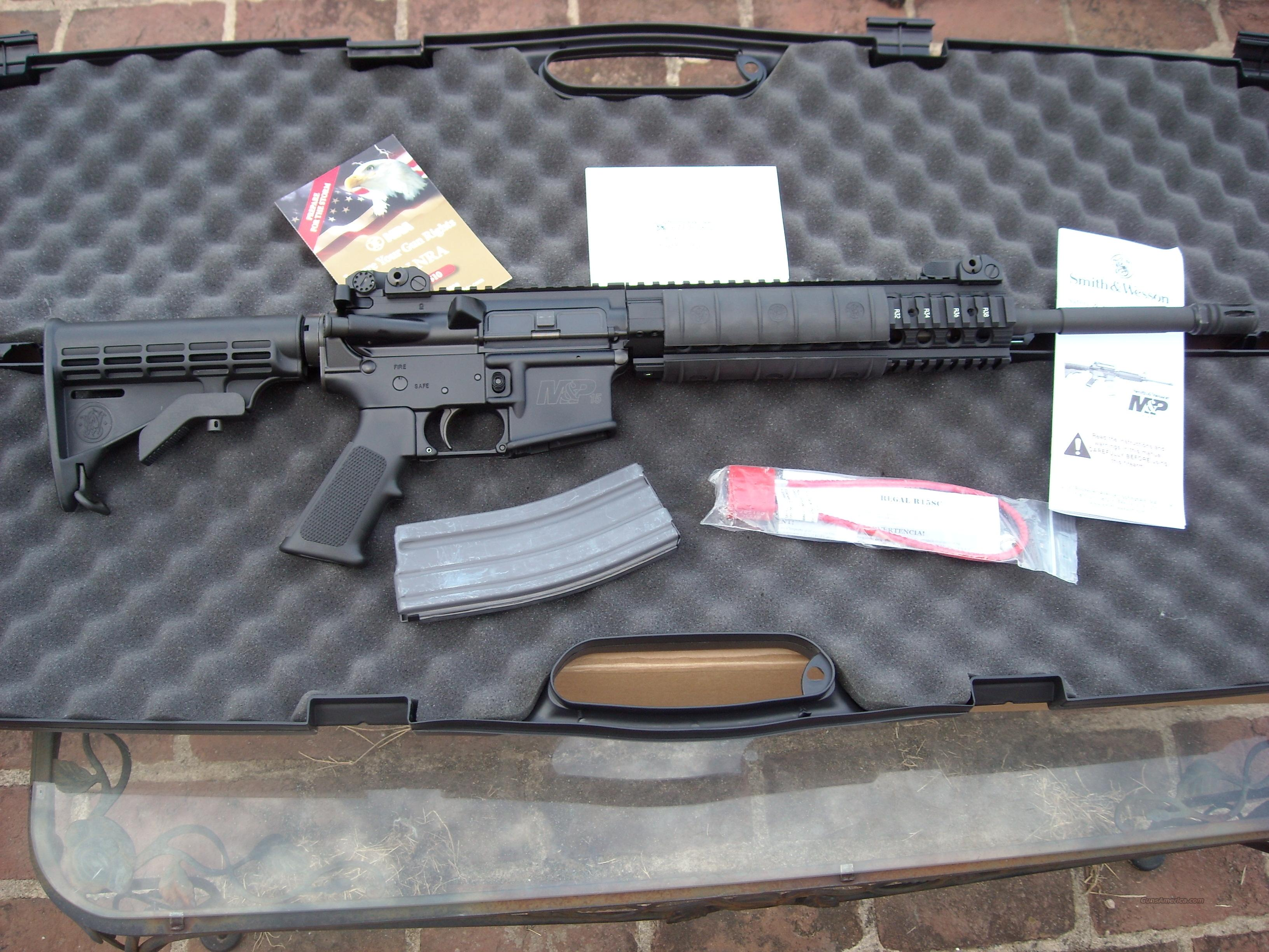 Smith & Wesson MP15 Tactical   Guns > Rifles > AR-15 Rifles - Small Manufacturers > Complete Rifle