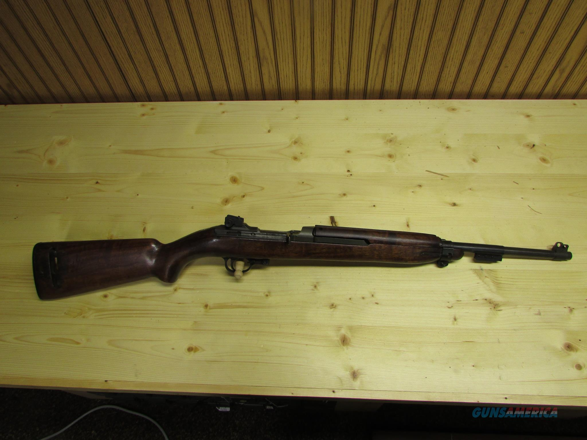 WWII Inland M1 Carbine 1st Block Production  Guns > Rifles > Military Misc. Rifles US > M1 Carbine