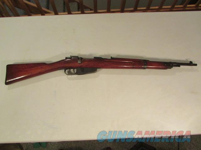 Carcano Carbine Finnish SA Marked 7.35mm  Guns > Rifles > Military Misc. Rifles Non-US > Other