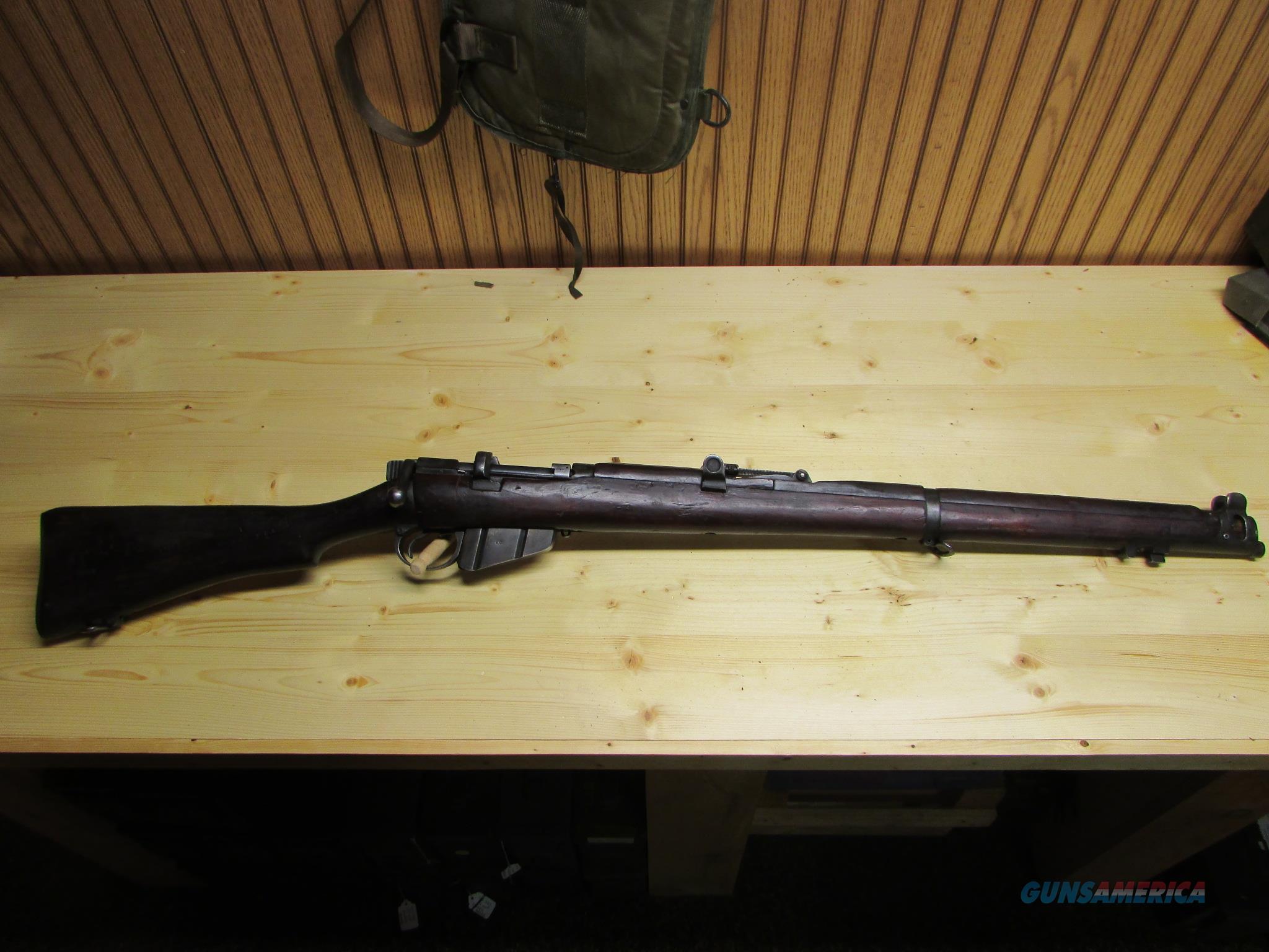 BRITISH ENFIELD NO. 2 MK IV .22 CAL MILITARY TRAINING RIFLE  Guns > Rifles > Military Misc. Rifles Non-US > Other