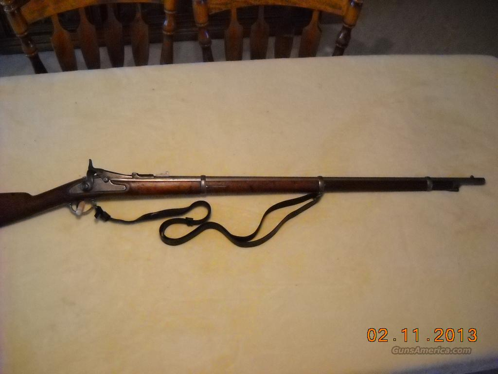 1863 Springfield Musket Trapdoor Conversion .50/70  Guns > Rifles > Military Misc. Rifles US > Pre-1900