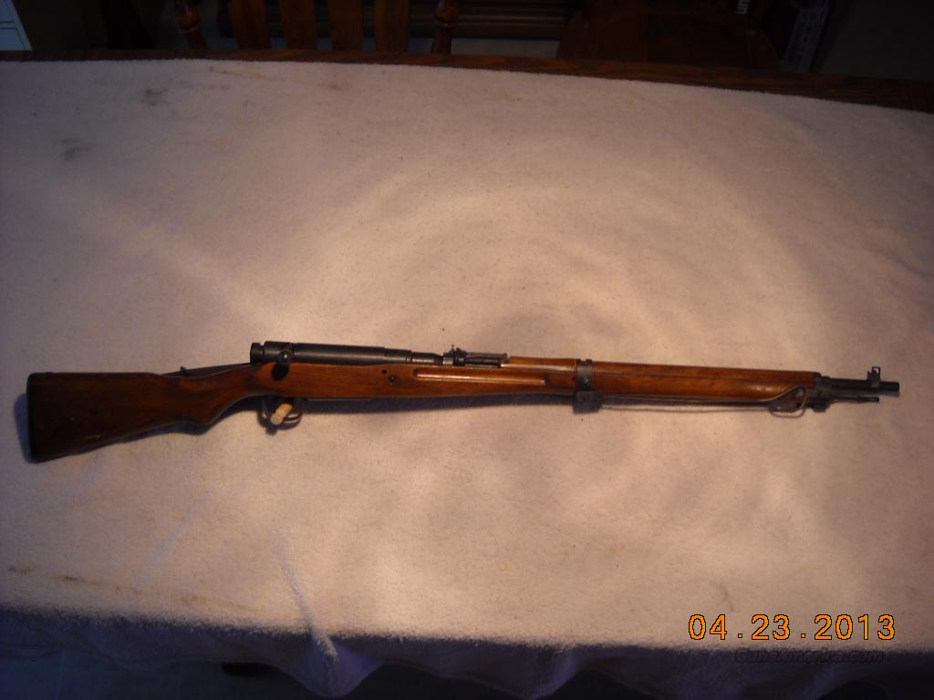 Japanese Type 38 Arisaka 7.7 mm  Guns > Rifles > Military Misc. Rifles Non-US > Other