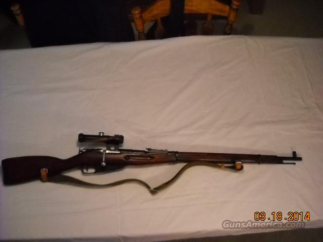 Original WW2 Russian M91/30 Mosin Nagant matching number scope Sniper Rifle 7.62x54R  Guns > Rifles > Mosin-Nagant Rifles/Carbines